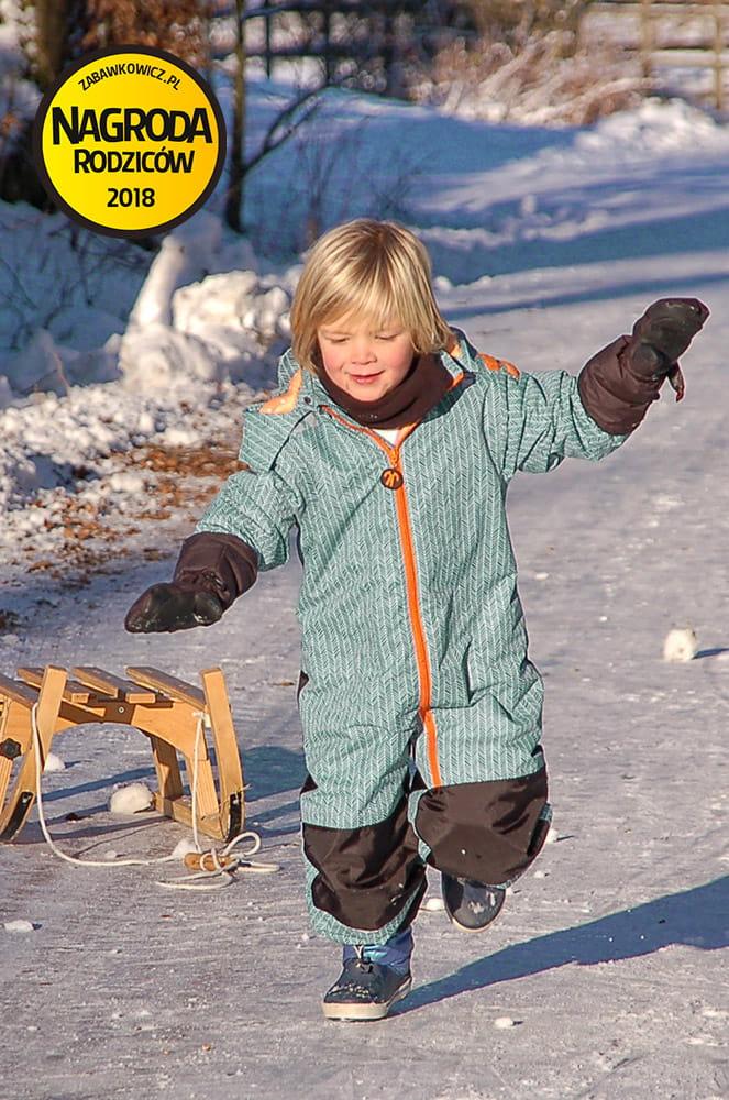 Kombinezon zimowy dla dziecka Ducksday, manu, rozmiar 104-110