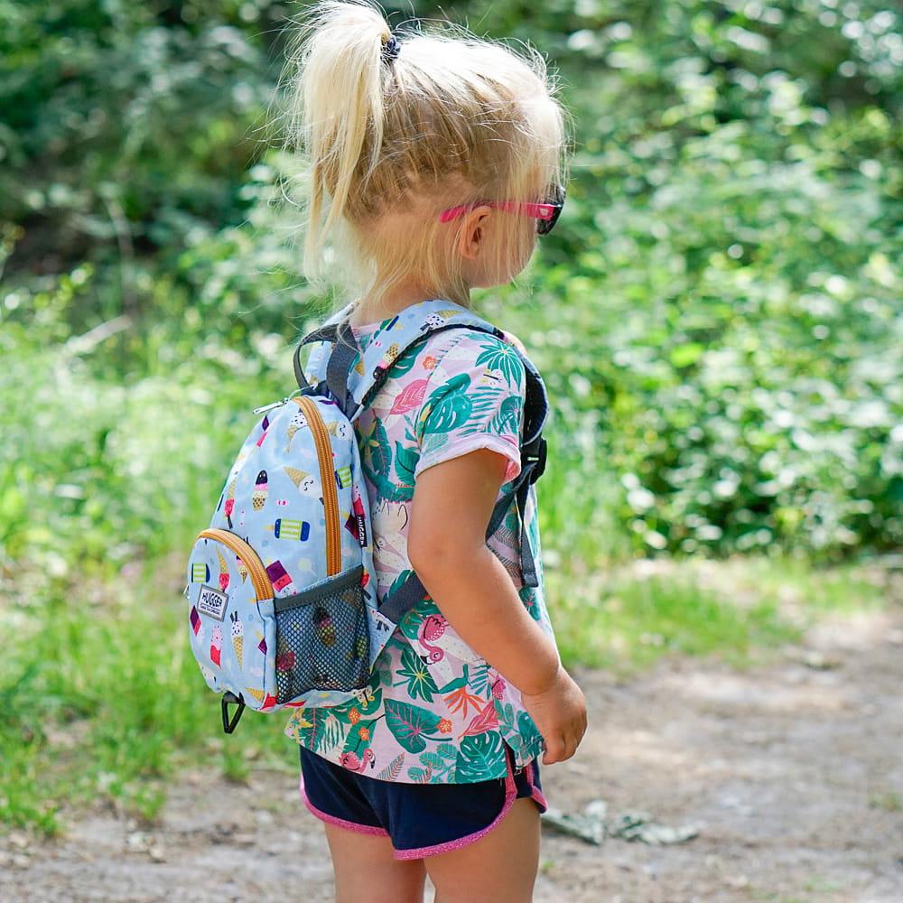 Plecaczek dla dzieci Hugger, Totty Tripper Small, wiek 1-3+ lat, wzór Ice Lollies