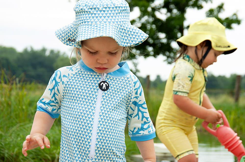 Jednoczęściowy strój plażowo-kąpielowy dla niemowlaka filtr UV 50+, Ace, 1-2 lata (80-86)