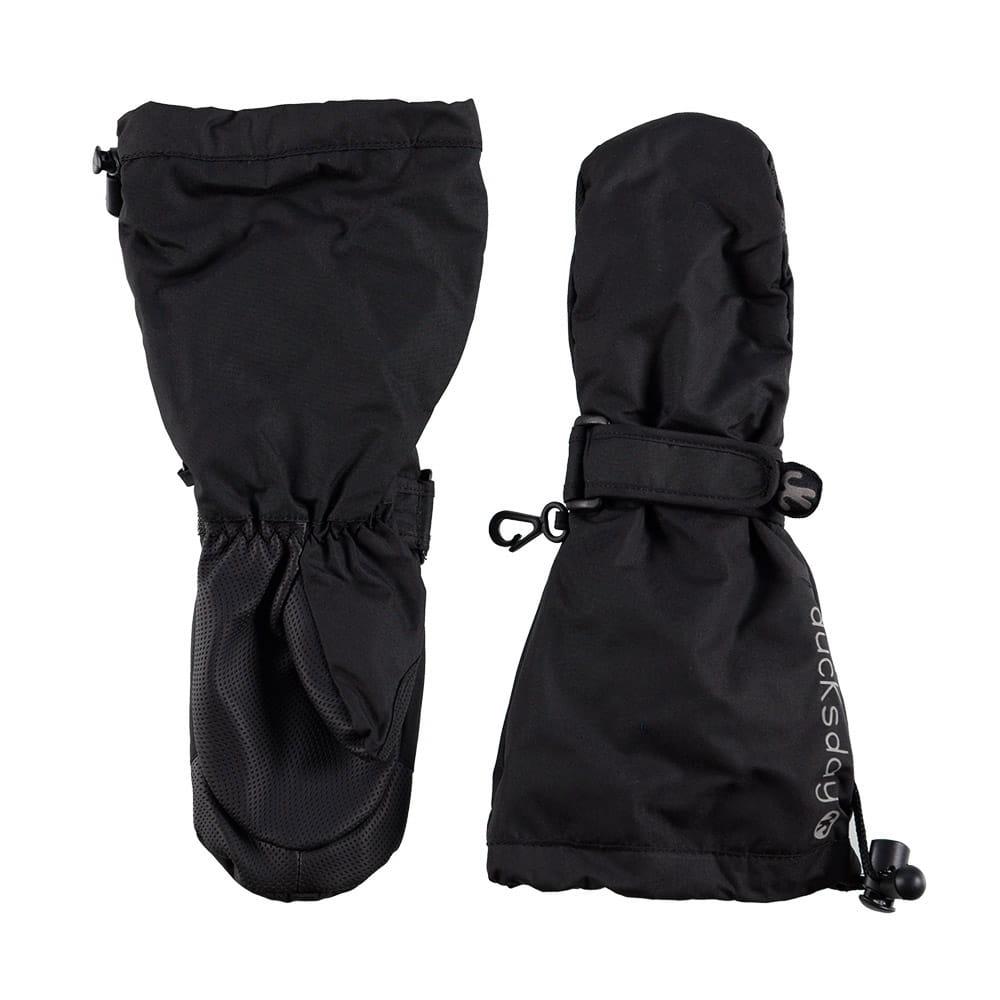 Jednopalczaste nieprzemakalne ciepłe rękawiczki zimowe dla chłopca, czarne 2, rozmiar S