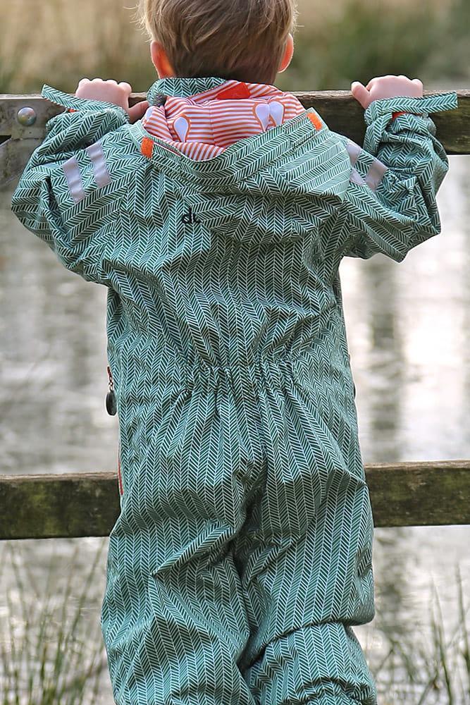 Kombinezon od deszczu dla dzieci, Ducksday, manu, rozmiar 110-116 (5-6 lat)
